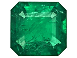 XTP2838<br>Brazilian Emerald 6.80ct 12.57x12.13x6.67mm Emerald Cut Stone Group Labs Report / C. Lync