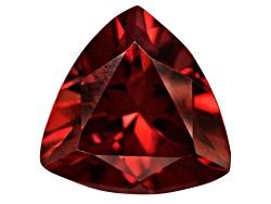 RZT003<br>Tanzanian Red Zircon Avg 2.25ct 8mm Trillion