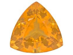 FOT273<br>Colheita Fire Opal(Tm) Honey Color Avg 12.50ct 18mm Trillion