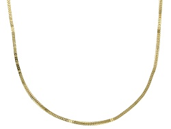 BNG658<br>14k Yellow Gold 1mm Franco Link 18 Inch Chain Necklace 2.75 Gram Weight
