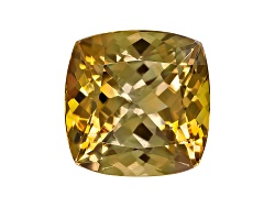 GZC006<br>Untreated Tanzanian Golden Zoisite Min 3.50ct 9x9mm Square Cushion