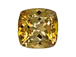 GZC006<br>Untreated Tanzanian Golden Zoisite Min 3.50ct 9x9mm Square Cushion