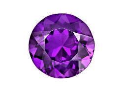 ASR009<br>UNTREATED Amethyst AVG 2.75CT 10MM ROUND