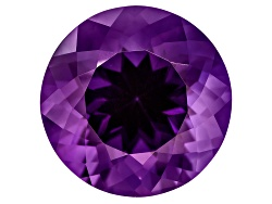 ASR020<br>UNTREATED Amethyst AVG 10.50CT 15MM ROUND