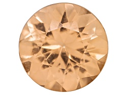 PRR023<br>Imperial Topaz Avg .50ct 5mm Round Diamond Cut Untreated