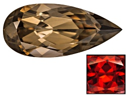 XTP084<br>Thermochromic Zircon 3.48ct 13.75x6.22mm Pear Shape Use Precaution When Working W/Heat Gem