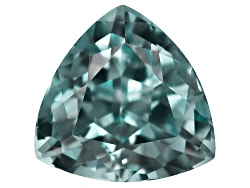 XTP4590<br>Afghan Untreated Teal Green Tourmaline 1.54ct 7.51x7.46mm Trillion