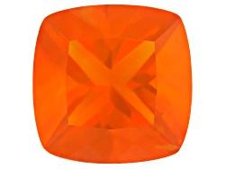 FOC495<br>Colheita Fire Opal(Tm) Brasa Color Avg 3.50ct 11mm Square Cushion