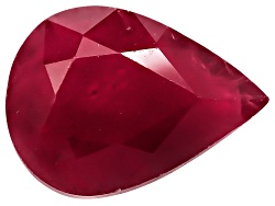 RBP058<br>Burmese Ruby Min 1.00ct 8x6mm Pear Shape