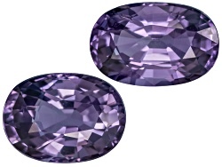 XTP1409<br>Vietnamese Spinel Set Of Two 4.41ctw Mm Varies Oval