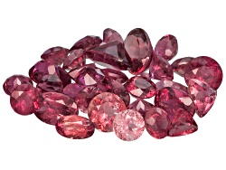 GP6175<br>Nigerian Rubellite Tourmaline Parcel Of 10.00ctw Mm Varies Mixed Shape