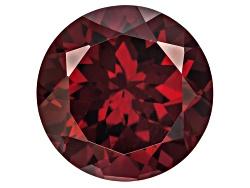 RUR096<br>Tanzanian Raspberry Rhodolite Garnet Min 7.25ct 12mm Round