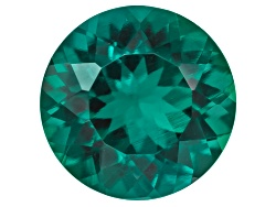 E3R038<br>Lab Created Hydrothermal Emerald Avg 1.75ct 8mm Round