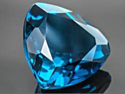TOT070<br>London Blue Topaz 11.00ct Minimum 14mm Trillion
