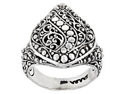 SRA328<br>Artisan Gem Collection Of Bali(Tm) Sterling Silver Filigree Ring