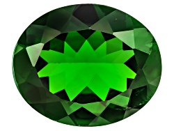 EXB541<br>Russian Chrome Diopside Minimum 4.00ct 12x10mm Oval