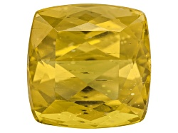 AC085<br>Madagascar Canary Apatite Minimum 7.50ct 11mm Square Cushion Mixed Cut