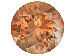 SN057<br>Red Oregon Sunstone From Butte Mine 2.10ct Minimum 9mm Round Mixed Cut Color Varies