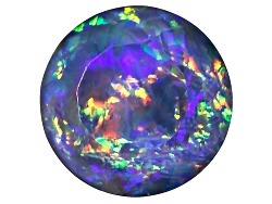 OP298<br>Australian Opal Triplet 8mm Round Faceted