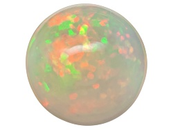 OP358<br>Ethiopian Opal 1.25ct Minimum 9mm Round Cabochon