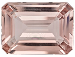 EXK2330<br>Mozambique Morganite 12.95ct Minimum 18x13mm Rectangular Octagonal
