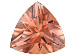 SN092<br>Red Oregon Sunstone From Butte Mine .65ct Minimum 6mm Trillion Brilliant Cut Color Varies
