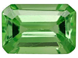 TS195<br>Tanzanian Tsavorite Garnet .50ct Minimum 6x4mm Emerald Cut